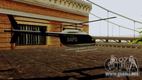 Los nuevos vehículos de la policía de san franci para GTA San Andreas sucesivamente de pantalla