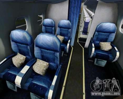Embraer E-190 Virgin Blue para el motor de GTA San Andreas