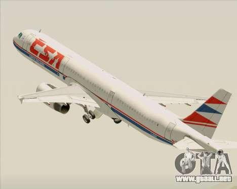 Airbus A321-200 CSA Czech Airlines para GTA San Andreas