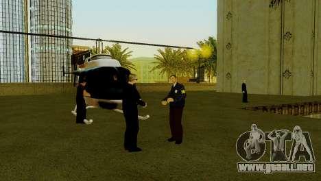 Un nuevo transporte en LSPD y su reactivación para GTA San Andreas sexta pantalla