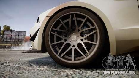 Ford Mustang GT 2014 Custom Kit PJ5 para GTA 4 vista hacia atrás