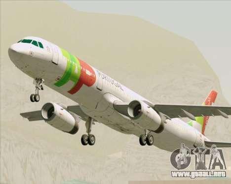 Airbus A321-200 TAP Portugal para GTA San Andreas