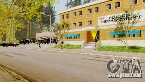 La reactivación de todas las comisarías de polic para GTA San Andreas quinta pantalla