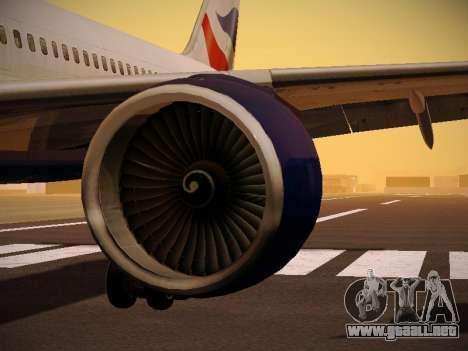 Boeing 757-236 British Airways para el motor de GTA San Andreas