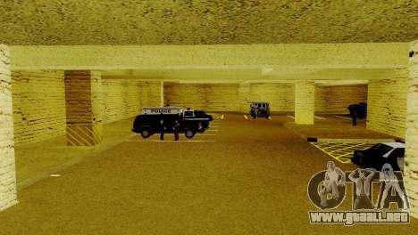 Un nuevo transporte en LSPD y su reactivación para GTA San Andreas sucesivamente de pantalla
