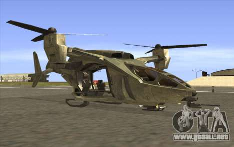HELO4 Future Hunter para GTA San Andreas
