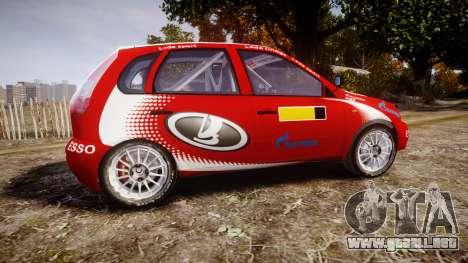 VAZ-Kalina 1119 RallyCross para GTA 4 left
