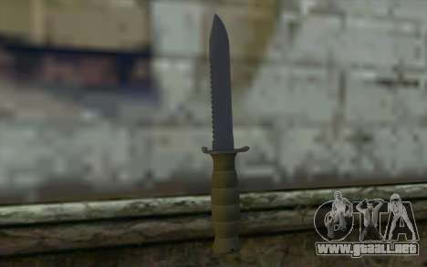 Cuchillo de combate (DayZ Standalone) v1 para GTA San Andreas segunda pantalla