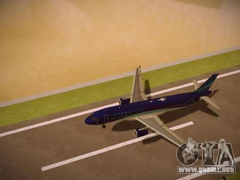 Airbus A320-214 Azerbaijan Airlines AZAL para el motor de GTA San Andreas