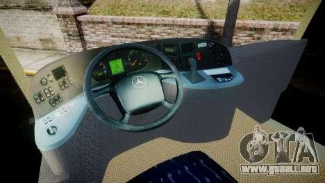 Mercedes-Benz Travego Turkey para GTA 4 vista hacia atrás