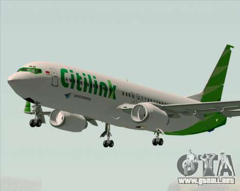 Boeing 737-800 Citilink para GTA San Andreas
