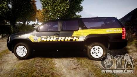 Chevrolet Suburban [ELS] Rims1 para GTA 4 left