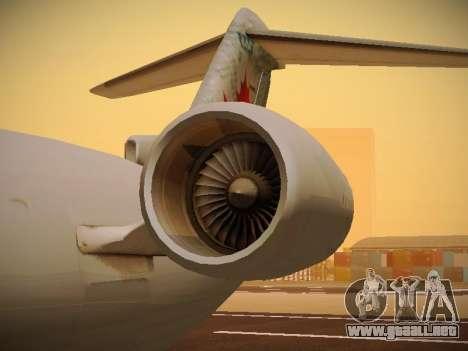 Bombardier CRJ-700 Air Canada Express para la vista superior GTA San Andreas