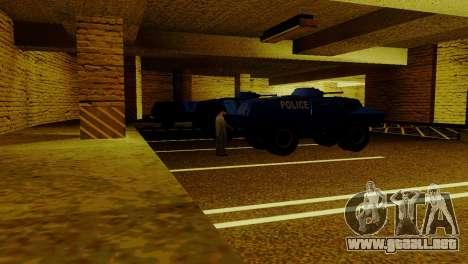 Un nuevo transporte en LSPD y su reactivación para GTA San Andreas quinta pantalla