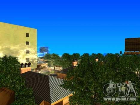 Relax City para GTA San Andreas sucesivamente de pantalla