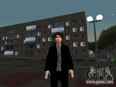 Viktor Tsoi para GTA San Andreas tercera pantalla