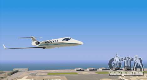 Buckingham Shamal GTA V para la visión correcta GTA San Andreas