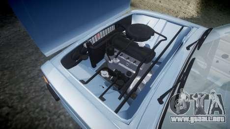 El USO de-2106 a (Lada 2106) para GTA 4 vista lateral