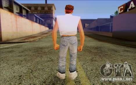 Cuban from GTA Vice City Skin 1 para GTA San Andreas segunda pantalla