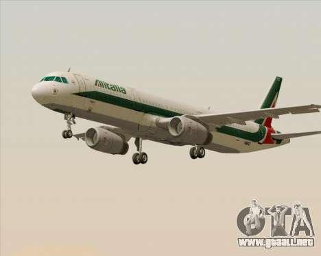 Airbus A321-200 Alitalia para GTA San Andreas left