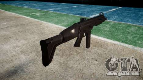 Pistola de SMT40 con la culata icon3 para GTA 4 segundos de pantalla