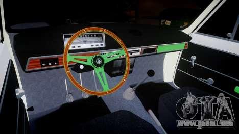 El USO de-2101 penny para GTA 4 vista interior