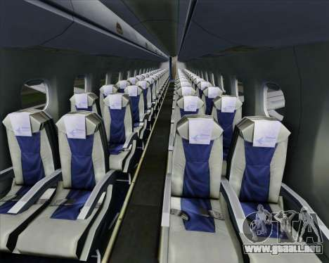 Embraer E-190 Virgin Blue para las ruedas de GTA San Andreas