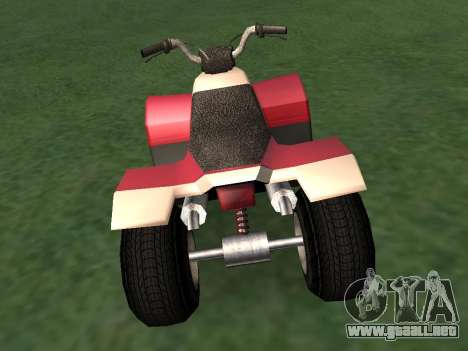 Actualizado Quad para GTA San Andreas left