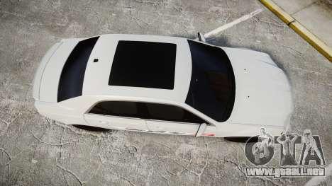 Chrysler 300 SRT8 2012 PJ SRT8 para GTA 4 visión correcta