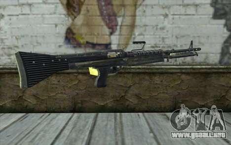 M60 from Battlefield: Vietnam para GTA San Andreas segunda pantalla