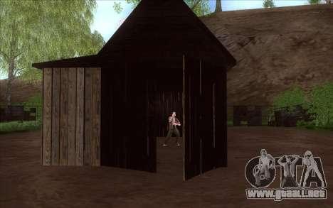En la Verdad para GTA San Andreas sucesivamente de pantalla