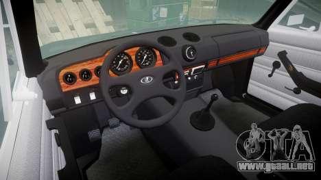 El USO de-2106 Vossen para GTA 4 vista interior