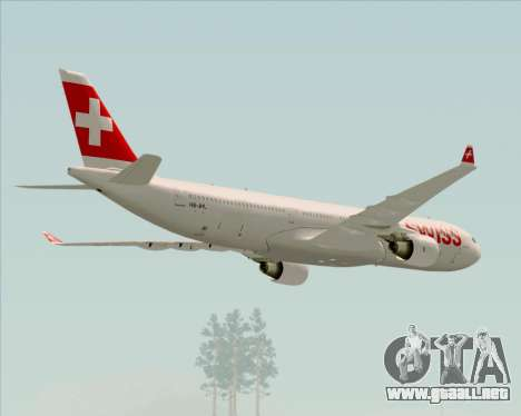 Airbus A330-300X Swiss International Air Lines para el motor de GTA San Andreas