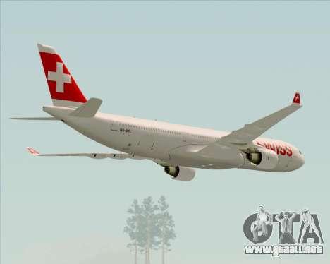 Airbus A330-300X Swiss International Air Lines para el motor de GTA San Andreas