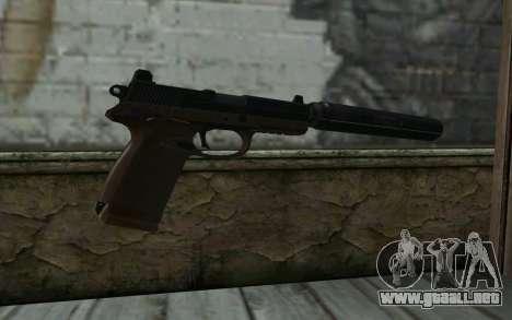 FN FNP-45 Con Silenciador para GTA San Andreas segunda pantalla