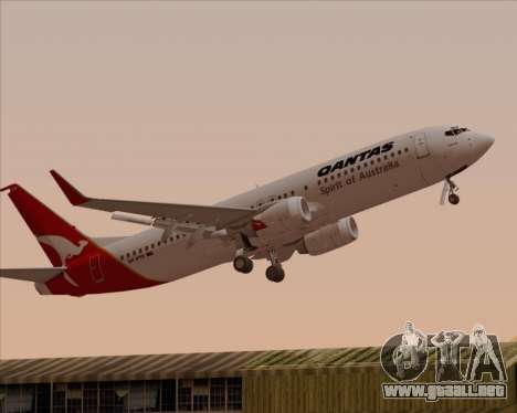 Boeing 737-838 Qantas (Old Colors) para GTA San Andreas