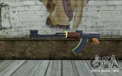 AK47 from Beta Version para GTA San Andreas