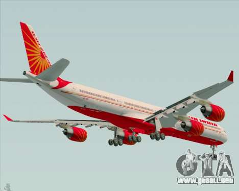 Airbus A340-600 Air India para GTA San Andreas