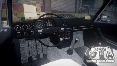 VAZ-2106 hooligan estilo de azerbaiyán para GTA 4 vista hacia atrás