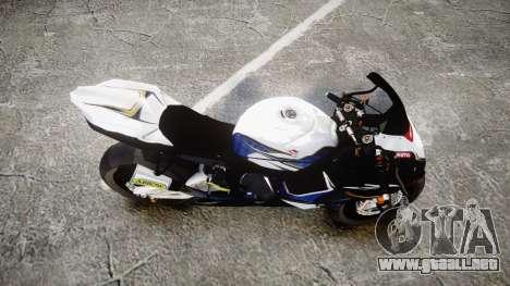 Suzuki GSX-R 1000 K10 para GTA 4 visión correcta
