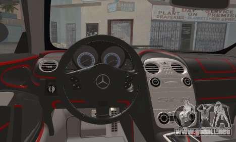 Mercedes-Benz SLR McLaren para la visión correcta GTA San Andreas