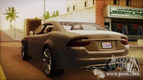 Lampadati Felon (IVF) para GTA San Andreas left