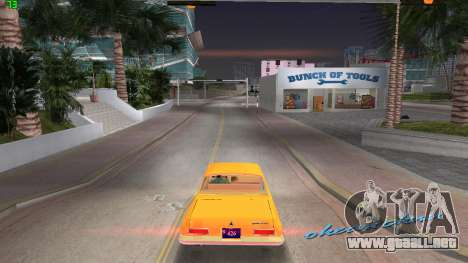 Dodge 330 Max Wedge Ramcharger 1963 para GTA Vice City left