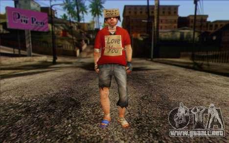 Vagabonds Skin 2 para GTA San Andreas