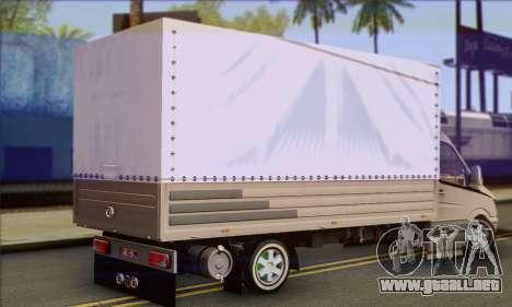 Mercedes-Benz Sprinter para GTA San Andreas left