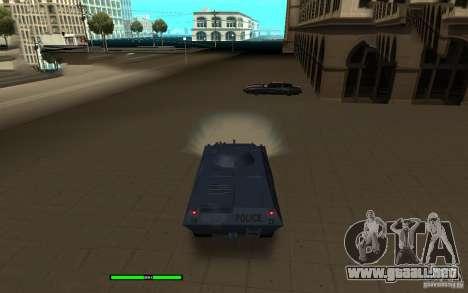 Car Indicator (HP) para GTA San Andreas segunda pantalla