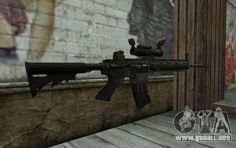 HK416 (Bump mapping) v1 para GTA San Andreas segunda pantalla
