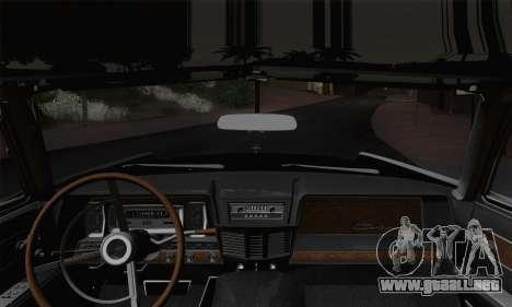 Lincoln Continental Sedan (53А) 1962 para la visión correcta GTA San Andreas