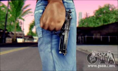Beretta 92 para GTA San Andreas tercera pantalla