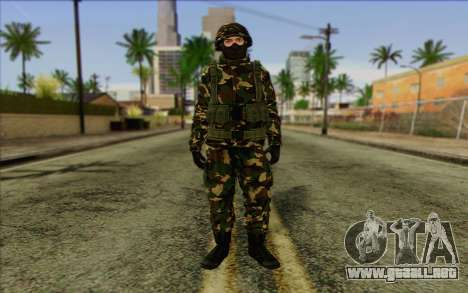 The Expendables 2 Enemy para GTA San Andreas